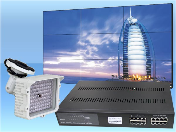 CCTV Security Camera and Access Control Products