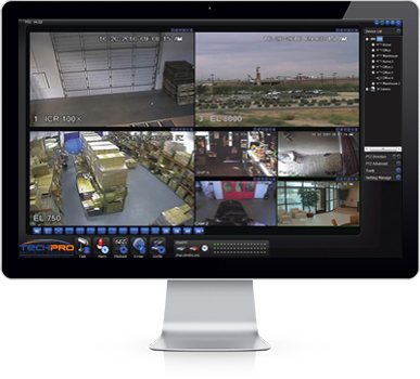 View your security cameras from your computer