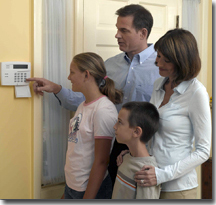 home security system for family