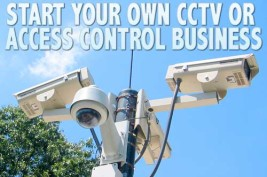 Start your own CCTV business.
