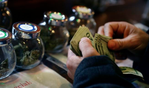 clockin' dolla'z with marijuana sales