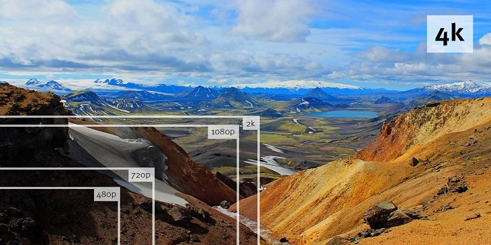 4K Resolution Comparison Examples