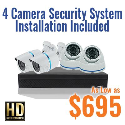 4 Camera Security Special