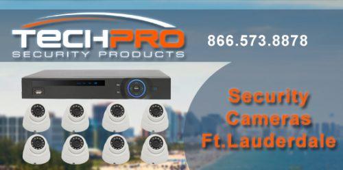 Security Cameras Fort Lauderdale