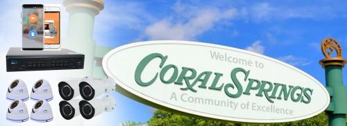 Security Cameras Coral Springs