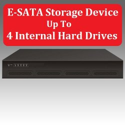 E-SATA NAS Storage Device