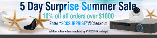 SCK Summer Sale