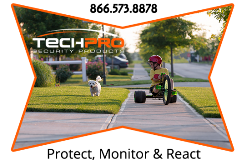 Neighborhood Security Cameras Techpro Security Products