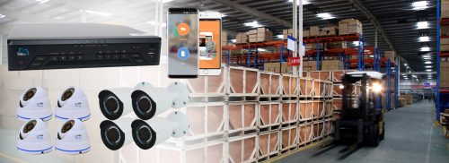 WAREHOUSE SECURITY CAMERAS
