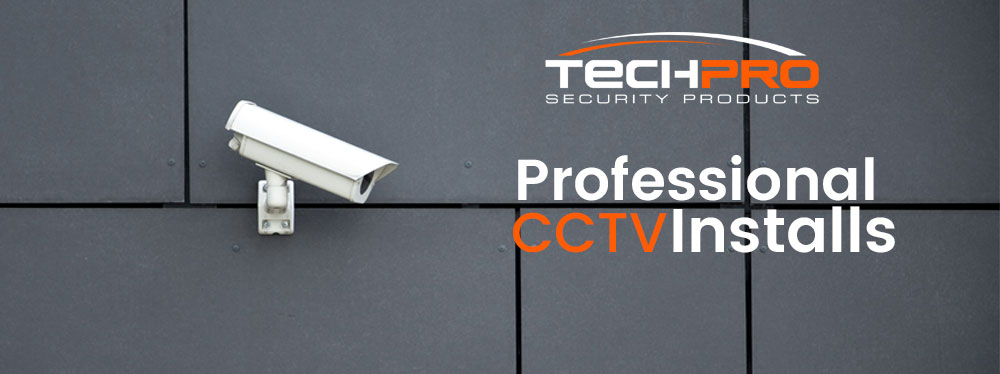 professional CCTV installation