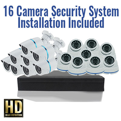 16 Camera Security Special