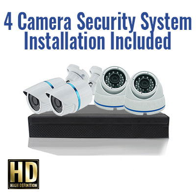 4 Camera Security Special