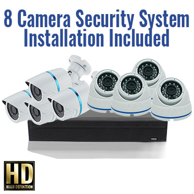 8 camera security special