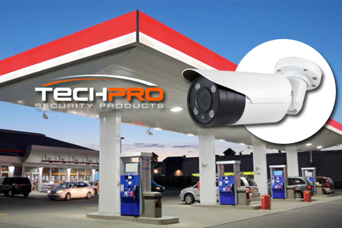 Gas Station Security Camera Installation Boca Raton